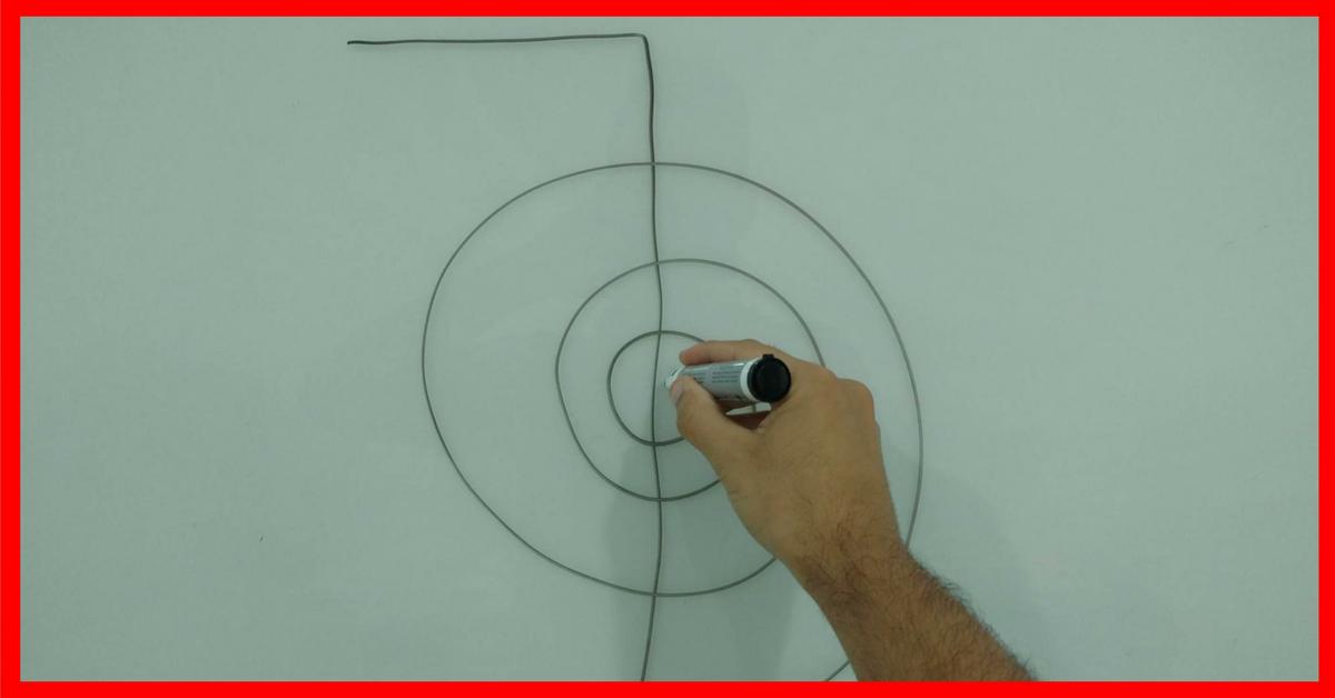 Como você está desenhando os símbolos do Reiki?